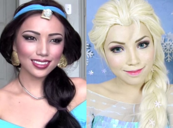 Disney Makeup Tutorial, YouTube