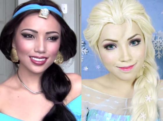 Disney Makeup Tutorial, YouTube