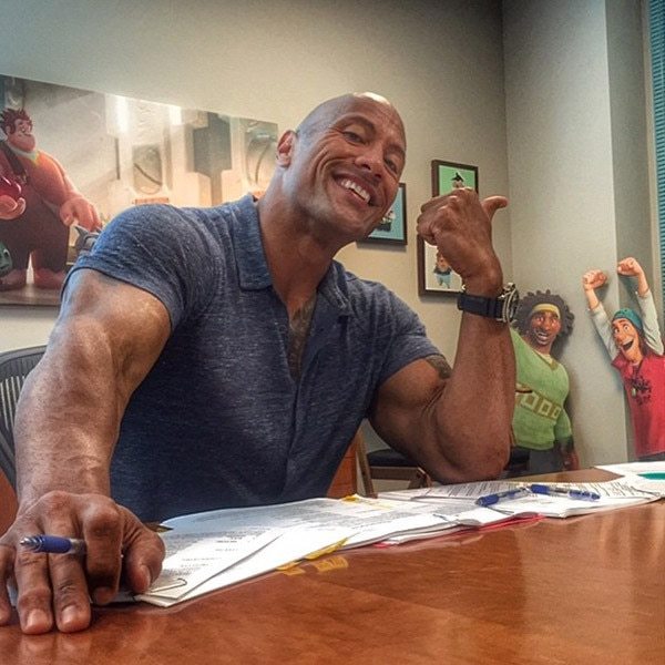 Dwayne Johnson, The Rock