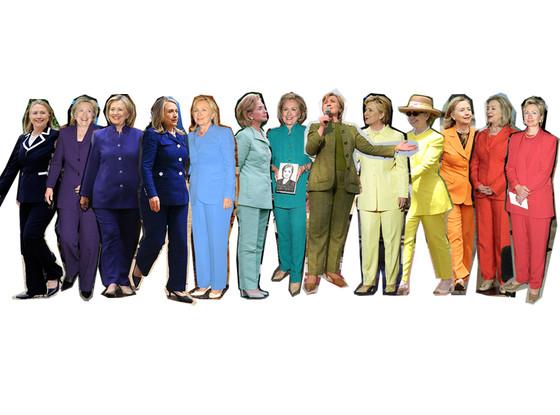 Hillary Clinton, Pantsuit, 2001