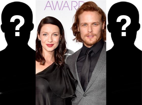 Caitriona Balfe, Sam Heughan, Outlander Fantasy Casting