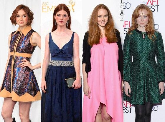 Karen Gillan, Lily Cole, Rose Leslie, Molly Quinn, Outlander Fantasy Casting