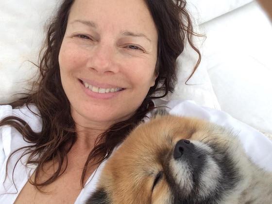 Fran Drescher Shares Makeup Selfie While Sick