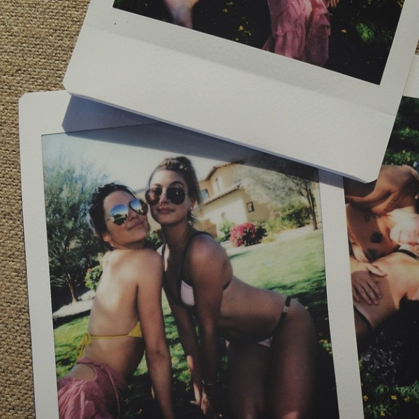 Kendall Jenner, Hailey Baldwin, Coachella, Instagram