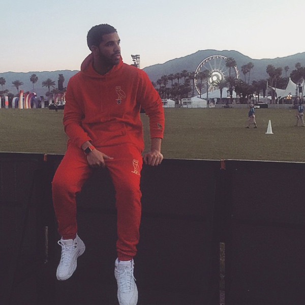 Drake, Coachella, Instagram