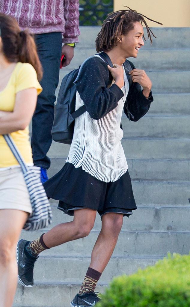 Here 39 S Jaden Smith Wearing An Actual Dress E News