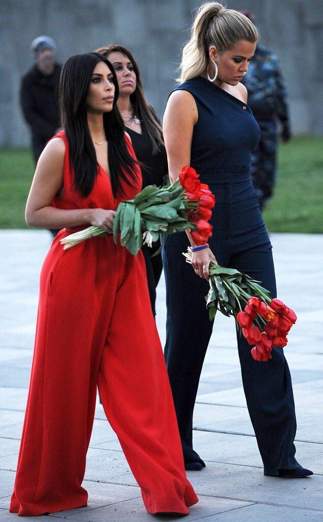 Kim Kardashian, Khloe Kardashian, Armenia