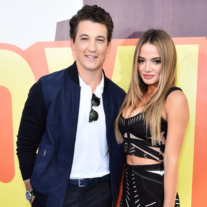 Miles Teller, Keleigh Sperry, MTV Movie Awards