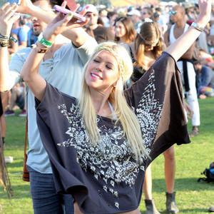 Tara Reid, Coachella