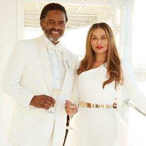 Beyonc 233 S Mom Tina Knowles Marries Richard Lawson E News