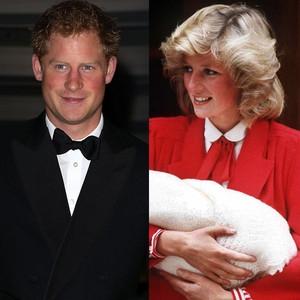 Prince Harry, Princess Diana