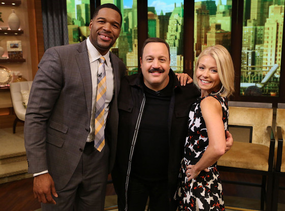 Kevin James, LIVE with Kelly and Michael