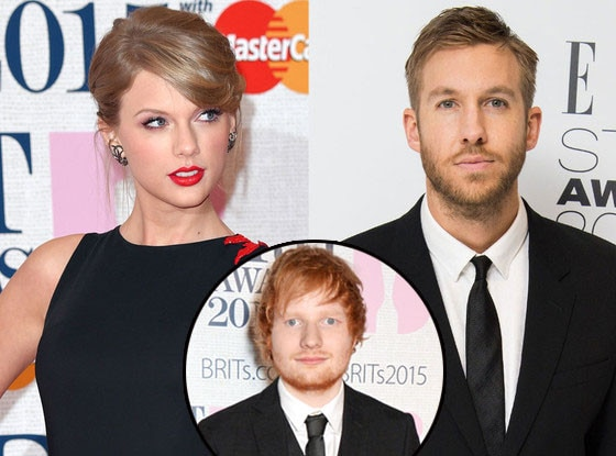 Taylor Swift, Calvin Harris, Ed Sheeran