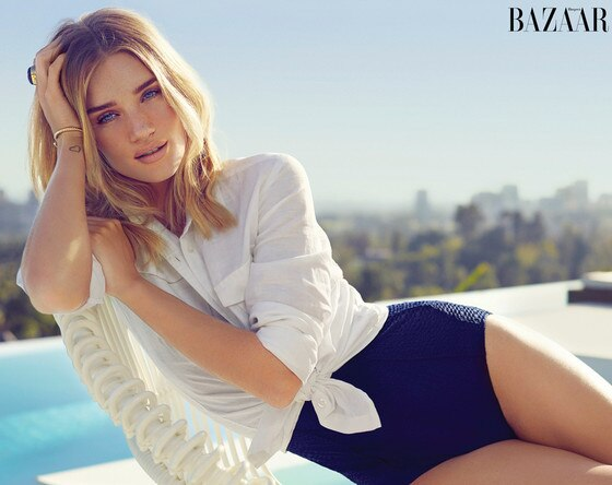 Rosie Huntington-Whiteley, Harper's BAZAAR
