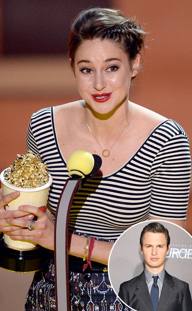Shailene Woodley, MTV Movie Awards, Ansel Elgort