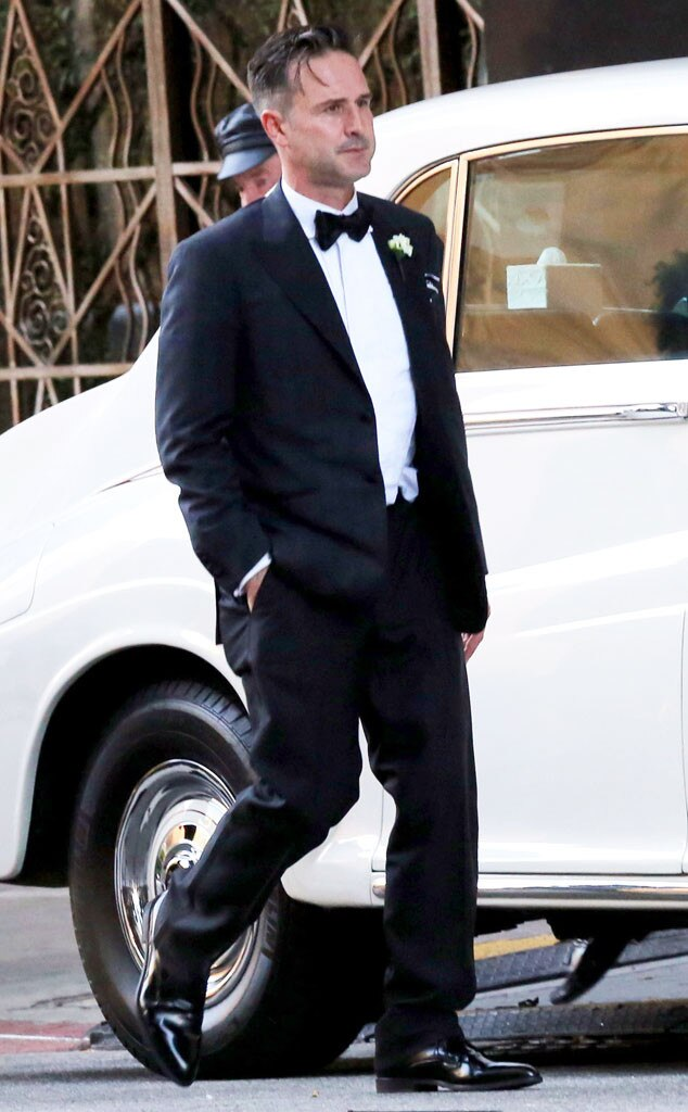 David Arquette, Wedding