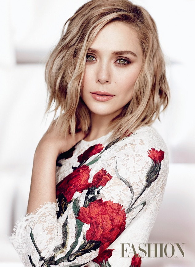 Elizabeth Olsen, FASHION Magazine
