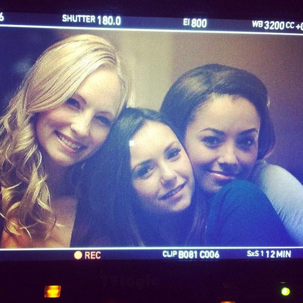 Les derniers jours de Nina Dobrev sur le tournage de  <i>Vampire Diaries</i>