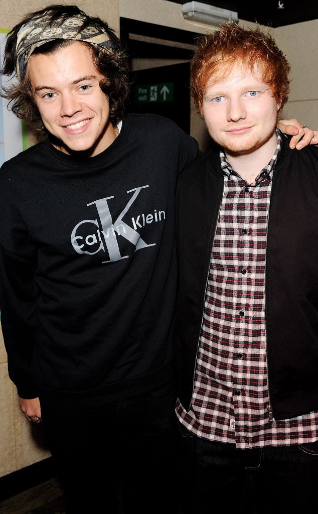 Harry Styles, Ed Sheeran