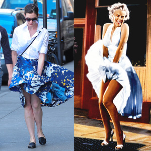 Anne Hathaway, Marilyn Monroe