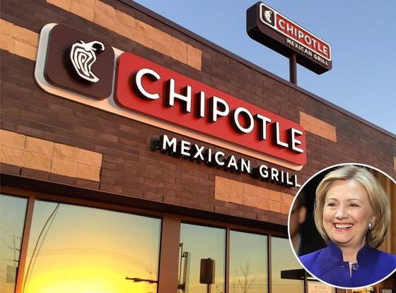 Hillary Clinton, Chipotle