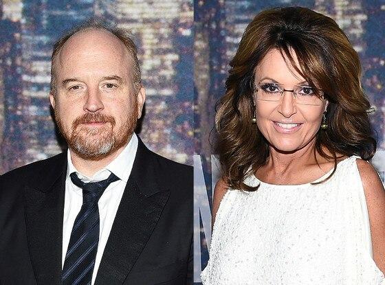Sarah Palin, Louis C.K.