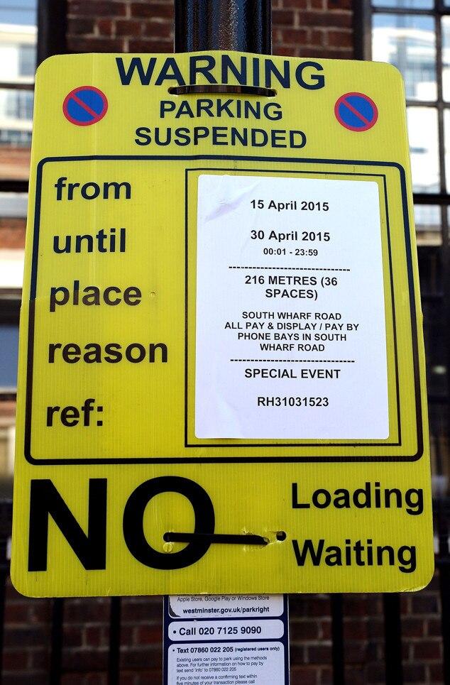 No Parking, Lindo Wing, Royal Baby