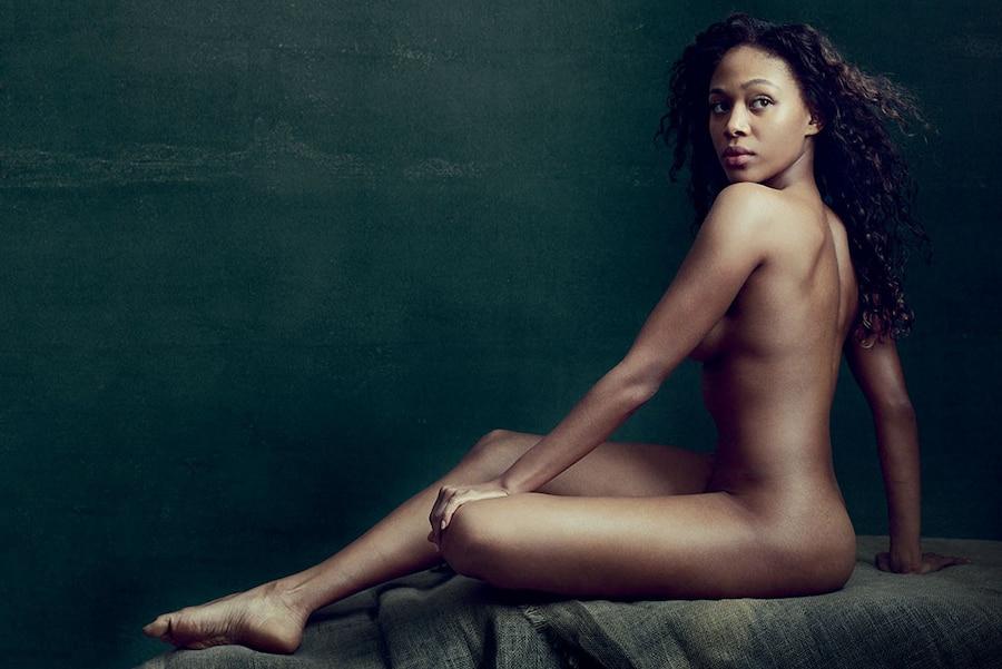 Nicole Beharie, Allure, Nude