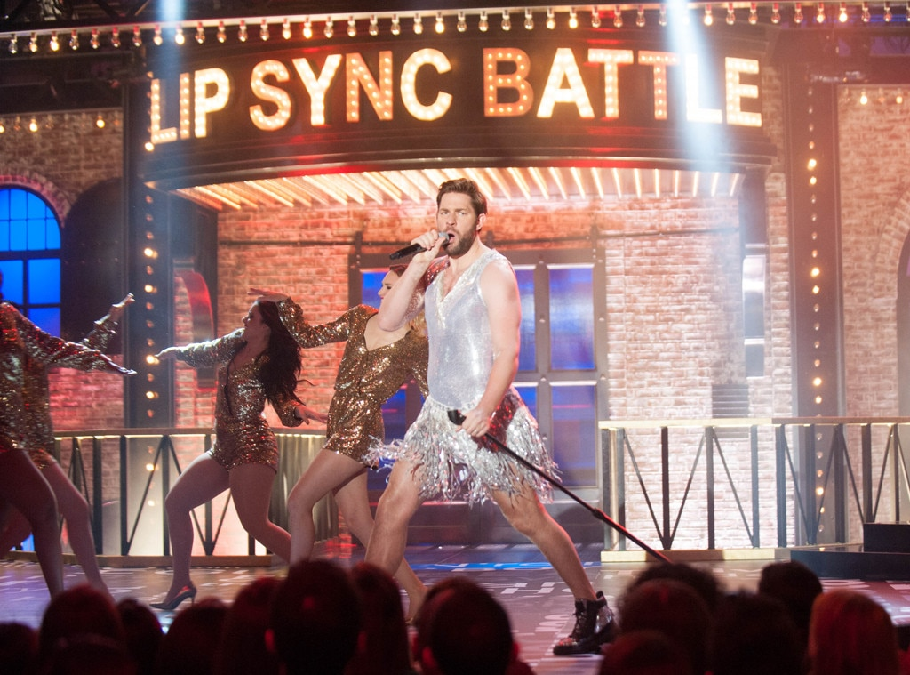 John Krasinski, Lip Sync Battle