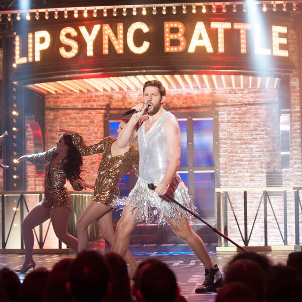 John Krasinski From Lip Sync Battle Performances E News