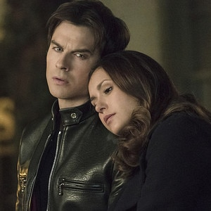 The Vampire Diaries, Ian Somerhalder, Nina Dobrev