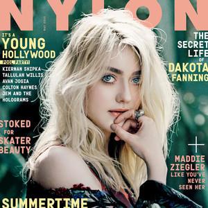 Dakota Fanning, NYLON Magazine, EMBARGO 5:05 a.m. PT 04/17/15