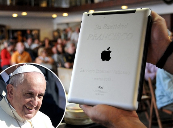Pope Francis, Ipad