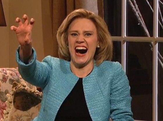Kate McKinnon, Hillary Clinton