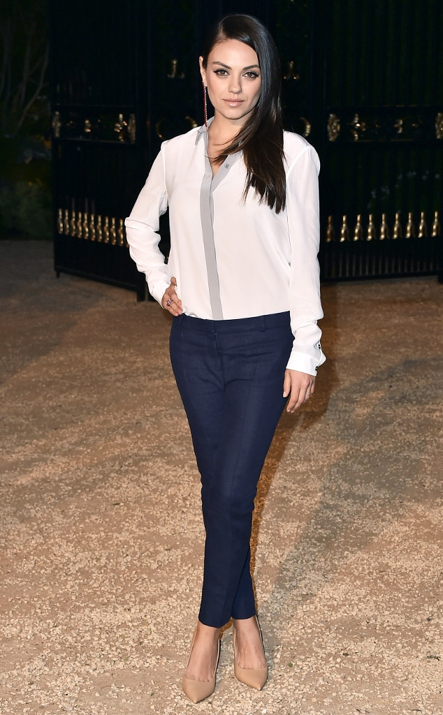 Mila Kunis, Burberry