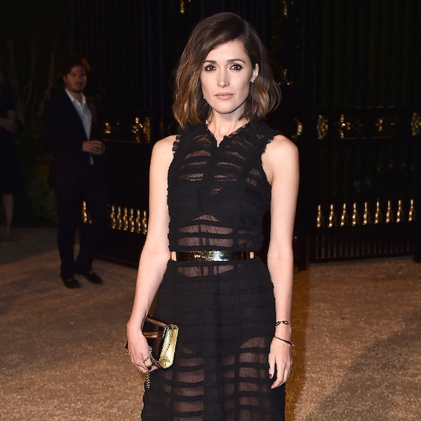 between the lines from rose byrne 39 s best looks e news. Black Bedroom Furniture Sets. Home Design Ideas