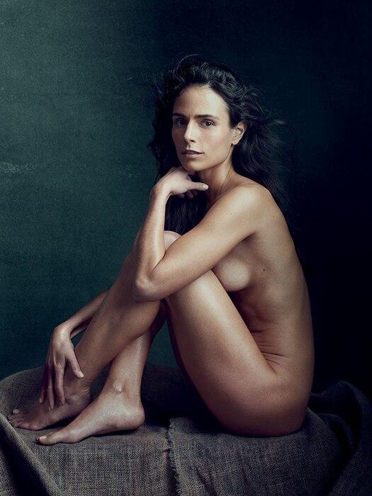 Jordana Brewster, Allure, Nude