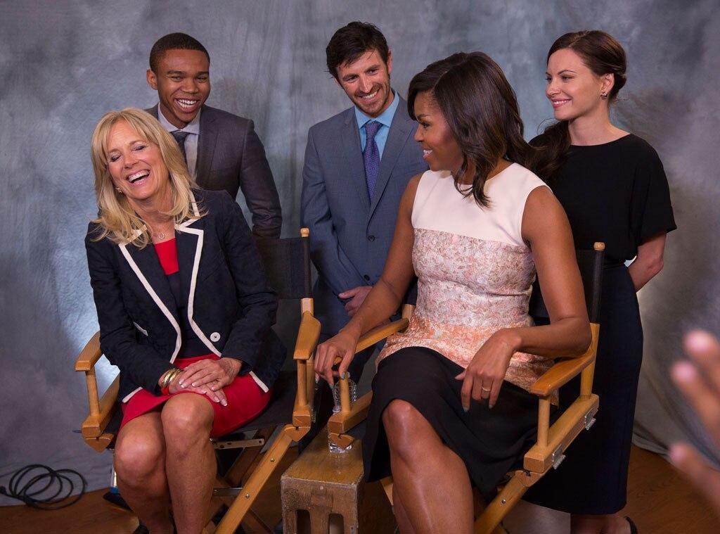 Michelle Obama, Dr. Jill Biden, The Night Shift