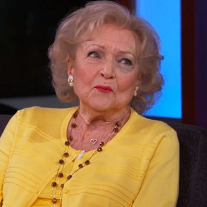 Betty White, Jimmy Kimmel Live, Black Eye
