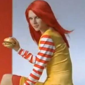 Japanese McDonald's Ad, Taylor Swift