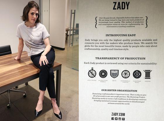 Trendsetters, Zady