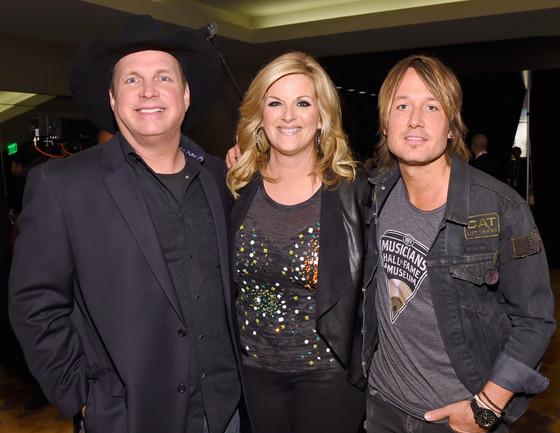 Garth Brooks, Trisha Yearwood, Keith Urban