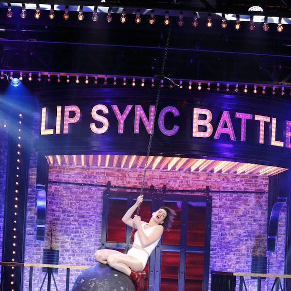 Celebrity lip sync show on spike