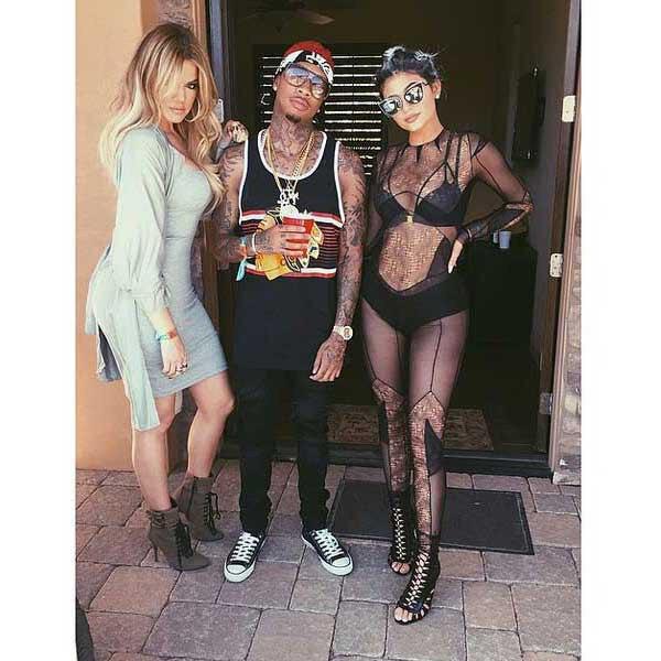 Kylie Jenner, Khloe Kardashian, Tyga, Coachella