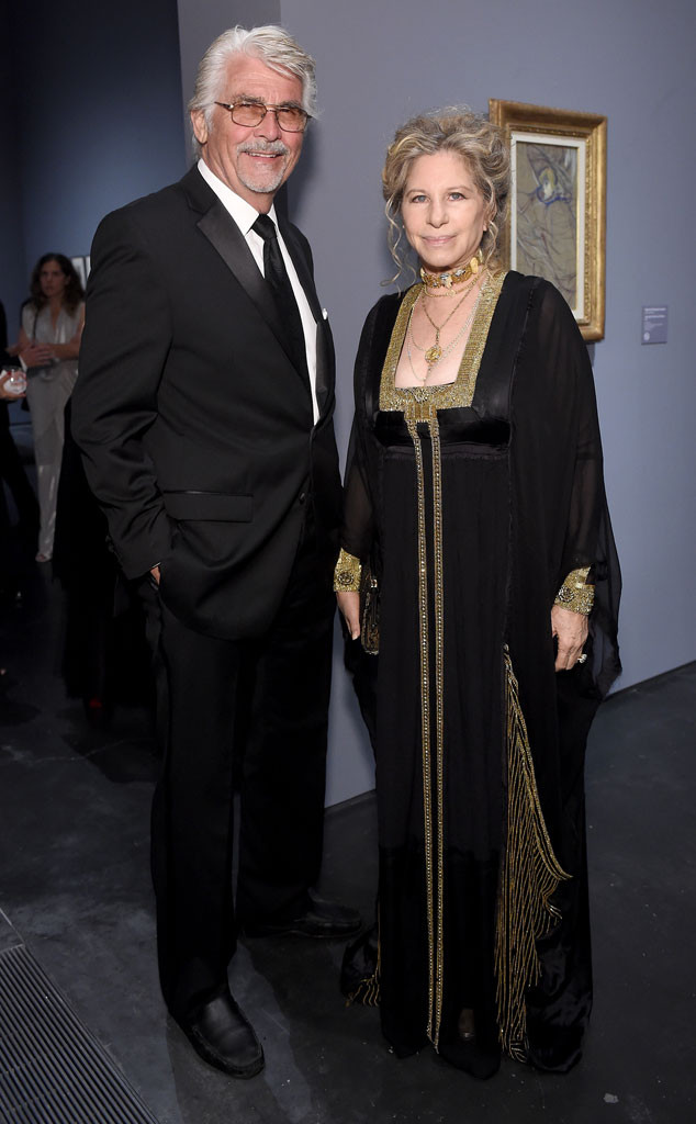 LACMA 50th Anniversary, James Brolin, Barbra Streisand