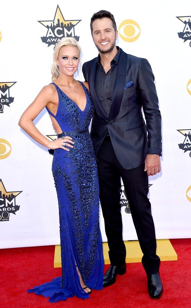 Caroline Boyer, Luke Bryan, Academy of Country Music Awards
