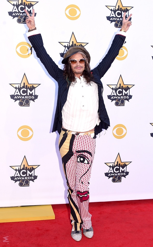 Steven Tyler, Academy of Country Music Awards