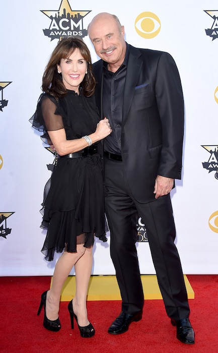 Phil McGraw, Robin McGraw, Academy of Country Music Awards
