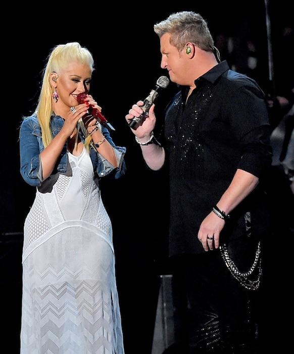 Christina Aguilera, Rascal Flatts, Academy of Country Music Awards