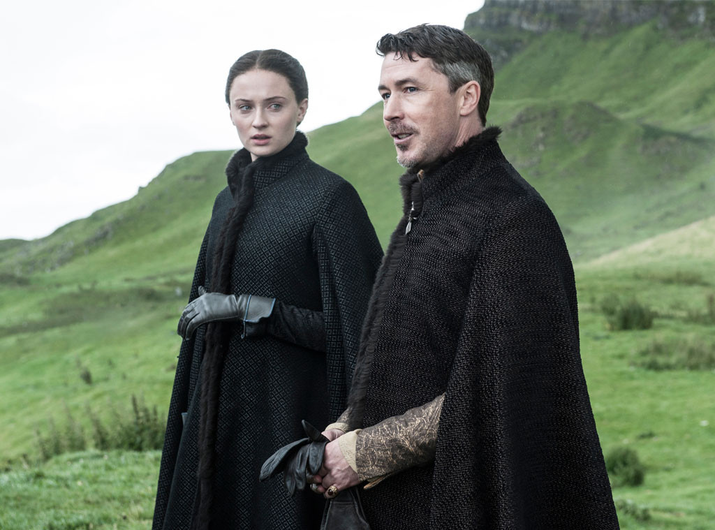 Game of Thrones, Sophie Turner, Aiden Gillen